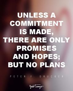 What is commitment in love