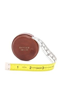 Hayden Leather Tape Measure