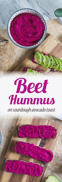 Discover how to make quick and easy vegan beet hummus!
