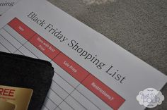 Black Friday Survival Kit. @Kaci Ovelgoenner  Better start planning!