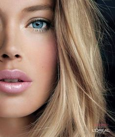 Doutzen Kroes is a Dutch model and actress. She's a Victoria's Secret Angel. She's also on contract with L'Oréal.