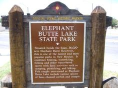 Elephant Butte Lake State Park - NM