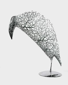Surreal Metal Sculptures by Kang Dong HyunKang Dong Hyun, an artist from Korea, creates sculptures that look as though they are formed from delicate tree branches and twigs. Although each piece is...