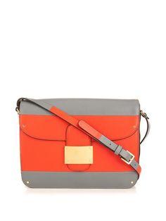 VALENTINO Rivet leather shoulder bag