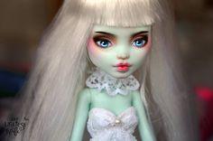 OOAK Custom Repainted Doll Mattel Monster High by theUgliestWife