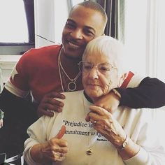#TI linked up with the incomparable #JaneElliott in #Chicago on #Saturday. If you don't know who she is - do your Googles immediately! IceCreamConvos.com