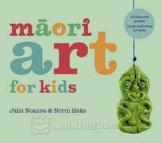 Maori Art for Kids is a collection of 15 projects, which offers children a range of unique Maori art experiences.