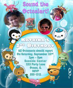 Octonauts Birthday Invitation