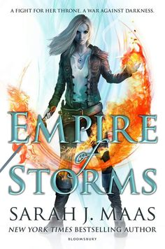 Empire of Storms UK- so we have a throne, a crown, an heir, a queen and an empire... So whats the 6th one gonna be?????