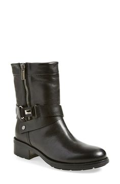 Aquatalia by Marvin K. 'Sami' Weatherproof Moto Boot (Women) available at #Nordstrom