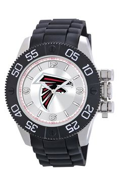Men's Game Time Watches 'NFL Beast - Arizona Cardinals' Flexible Strap Watch