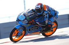 Álex Rins consigue su primera victoria en el Mundial de Moto3 en el nuevo Circuit of the Americas.