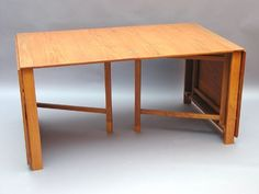 Bruno Mathsson for Karl Mathsson 'Maria Flap' dining table 280 x 90 x 72 cm 1936