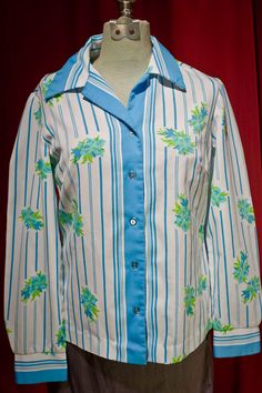 Vintage Beatnik Blouse by TheTarrowBoutique on Etsy, $21.00