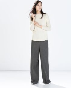 ZARA - SPECIAL PRICES - BASIC WOOL SWEATER 40