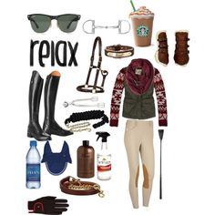 Cold ride over jumps - Polyvore everything but the Starbucks