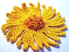 Ravelry: Coreopsis Flower Crochet Pattern pattern by Camelia Shanahan