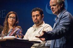 Aviv Weinberg, Mohamed Al-Hakim und Leopold von Verschuer (c) Mike Schmidt