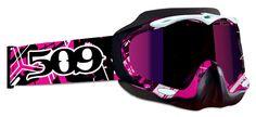 [509 INC] - 2013 Sinister Goggles, Pink Splash