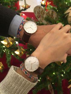 Daniel Wellington couple watch so elegant~