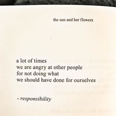 "#truth (Book: ""the sun and her flowers"" by @rupikaur_ ) #books #bookstagram #lisbethreading"