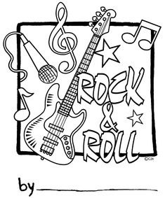 Dibujos Rock And Roll