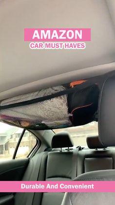 Cool Gadgets To Buy, Car Gadgets, Car Storage, Extra Storage, Fun Car Accessories, Wrangler Car, Best Amazon Buys, Car Interior Decor, Cargo Net