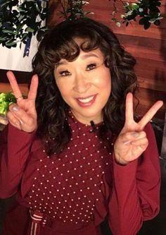 Sandra Oh, Beautiful Asian Women, Beautiful People, Greys Anatomy Cast, Cristina Yang, Jodie Comer, Lady Grey, Girl Crushes, Asian Woman