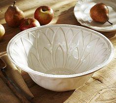 Juliette Serve Bowl #potterybarn