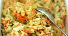helppo kaali-porkkana salaatti, kaalisalaatti ohje, coleslaw resepti Coleslaw, Salsa, Ethnic Recipes, Food, Coleslaw Salad, Essen, Salsa Music, Meals, Yemek