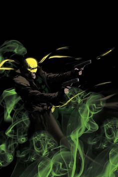 Immortal Iron Fist: Orson Randall and the Green Mist of Death - Kaare Andrews °°