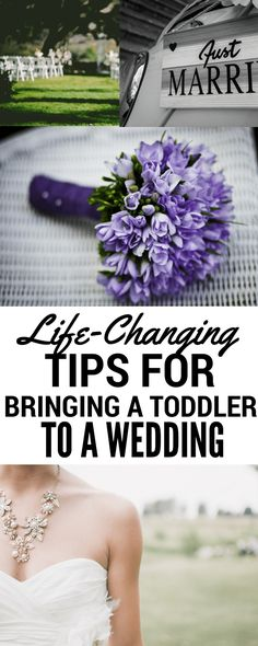 Thinking about bringing your toddler to a wedding? Then don't miss out on these 3 essential tips! Plus a bonus piece of advice!
