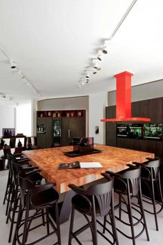 Miele Light Box Dining Room Interior Design