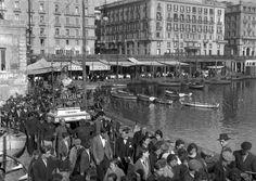 Napoli, processione della statua di Santa Lucia al Borgo Marinari Fondo Troncone  1930