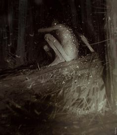 The unique, surreal and magnificent fantasy paintings of Sergey Kolesov, a digital illustrator and artist based in Lyon, France Creepy Images, Creepy Pictures, Creepy Art, Scary, Dark Fantasy Art, Dark Art, Arte Horror, Horror Art, Sergey Kolesov