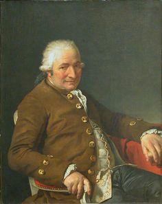 Jacques-Louis David - Portrait de  Jean-Pierre Pecoul (1784)