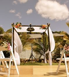 Ceremony arch with wow factor!