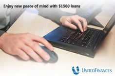 Traditional ways of borrowing personal loans by visiting financial institutions have declined in popularity owing to the time-consuming procedure that requires filling out several applications and waiting for approval.   http://www.unitedfinances.com/1500-loan-online/