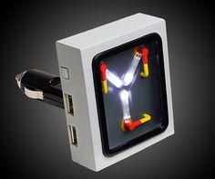 """Mai țineți minte seria """"Back to the future""""? Aici este gadgetul perfect pentru fanii filmului. Singura diferență: """"Flux Capacitor USB"""" te aduce doar în prezent. http://www.thinkgeek.com/product/1dbd/"""