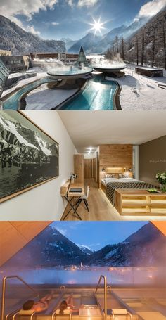Aqua Dome in Austria - 5 awesome winter hotels