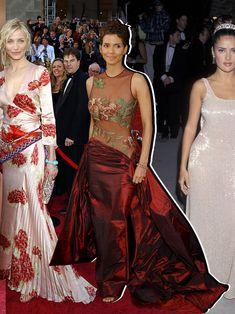 Oscars Dresses: The 39 Best of All Time | Vogue Balenciaga Dress, Valentino Dress, Oscar Dresses, Prom Dresses, Formal Dresses, Oscars Red Carpet Dresses, Column Dress, Vintage Gowns, Vintage Glamour
