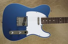 Fender Custom Shop NOS 60' Telecaster Custom Tele Lake Placid Blue Guitar #Fender