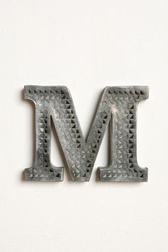 UrbanOutfitters.com > Acid Etched Letter - love these! definitely want to get one for baby room! cost: $10