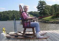 Adventurous granny