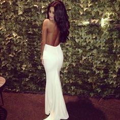 Hairstyles For Long Hair Backless Dress : backless wedding dress more fashion inspiration style dresses wedding ...