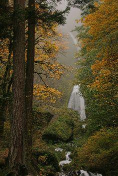 Columbia Gorge, Waterfall, Oregon State