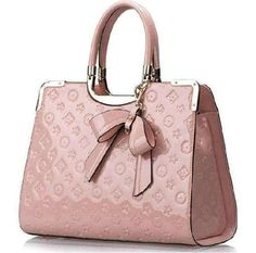 Pretty, pink Lois Vuitton bag!