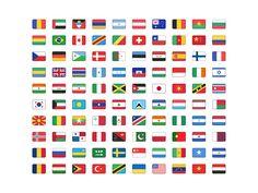 Flag Set for Sketch - Free sketch resource for download #sketchhint #sketch #resource #app #freebie #free
