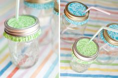 DIY: Party-Perfect Mason Jar Glasses