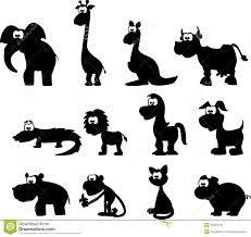 cartoon silhouettes - Google zoeken
